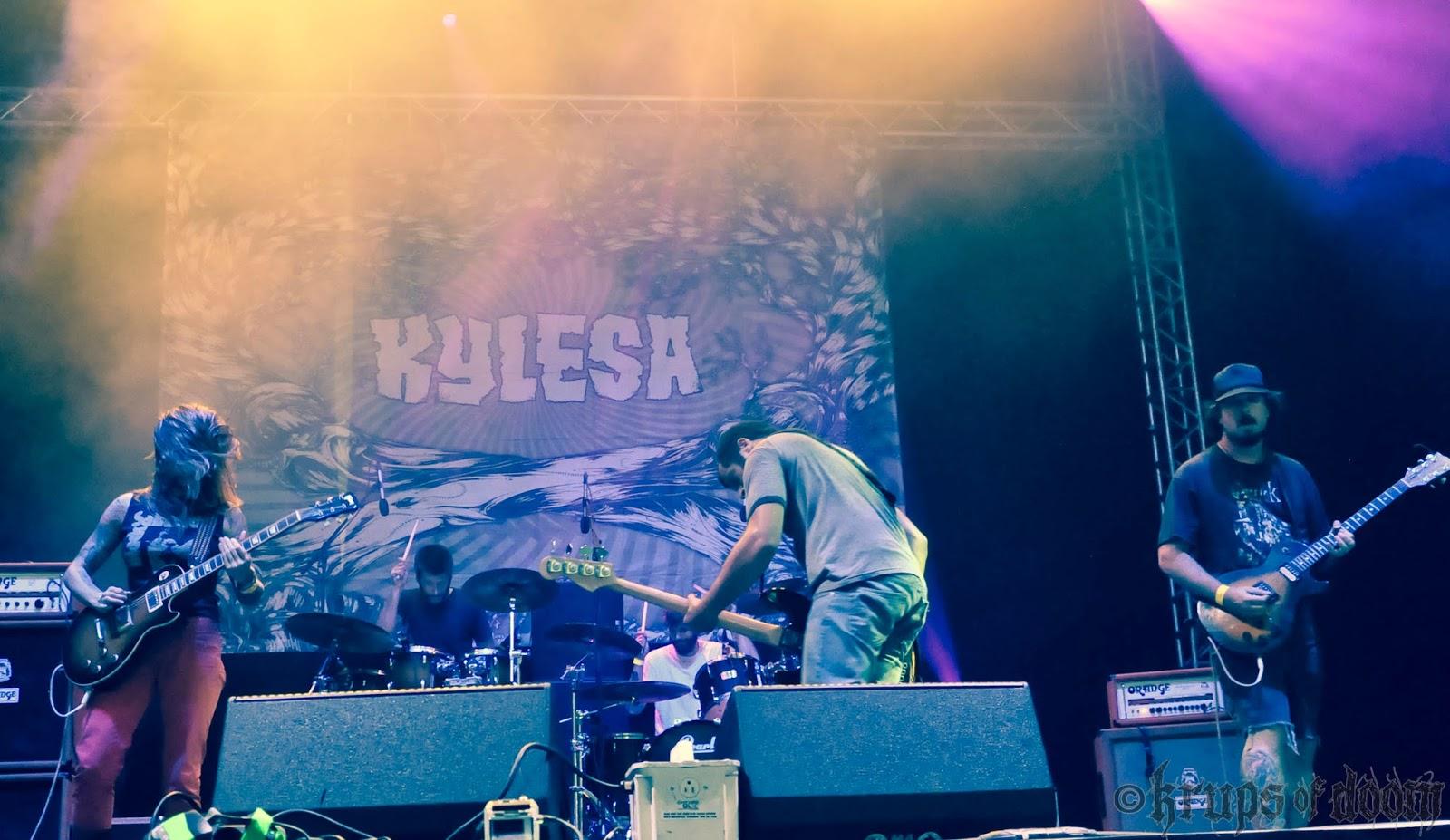 Kylesa en el Wacken 2012