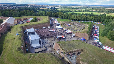 Brutal Assault aerial view