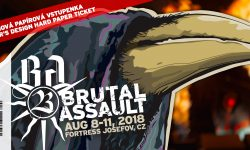 Brutal Assault Ticket 2018