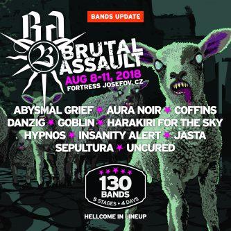 Brutal Assault 2018: Danzig, Abysmal Grief, Goblin