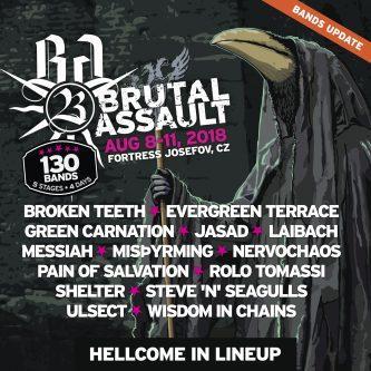 Brutal Assault 2018: Laibach, Green Carnation, Misþyrming