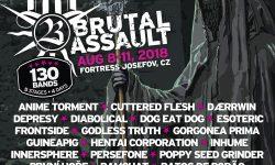 Brutal Assault 2018: nuevos bandas