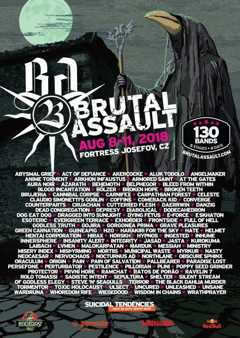 Brutal Assault 2018 Afiche