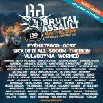Brutal Assault 2019: se anuncia más bandas