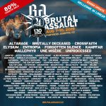 Brutal Assault 2019: Line Up completo