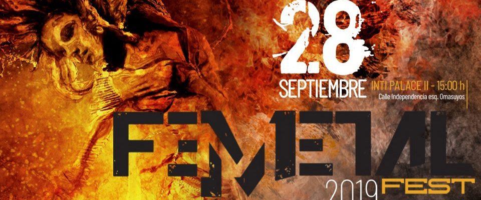 El FemMetal Fest 2019 llega a lo grande