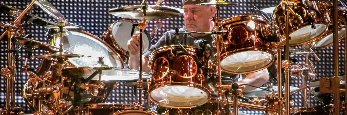 "En memoria de Neil ""the professor"" Peart (Rush)"