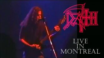 """Death: """"Live in Montreal, Symbolic Tour"""""""