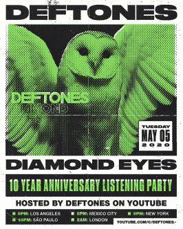 Deftones: fiesta de celebración 10 años 'Diamond Eyes'