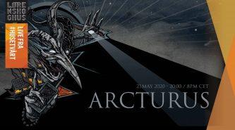 Arcturus: en vivo jueves 21 de Mayo, 2 pm EST