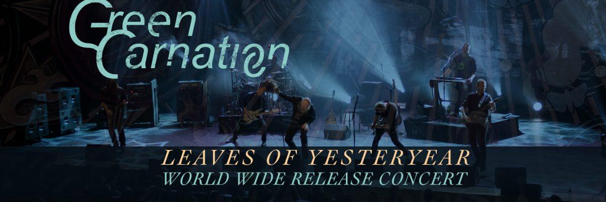 Green Carnation: nuevo disco en vivo Mayo 23 – 3PM EST/9PM CET