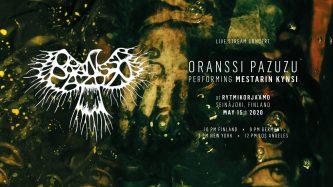 Oranssi Pazuzu: nuevo disco en vivo – viernes 15 de mayo, 3 pm EST
