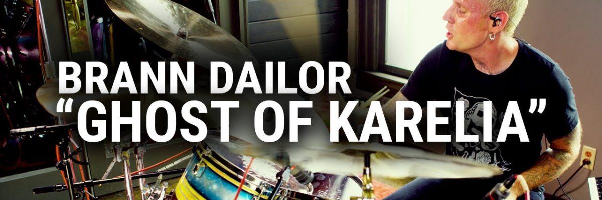 "Brann Dailor: ""Ghost of Karelia"" (Meinl Cymbals)"