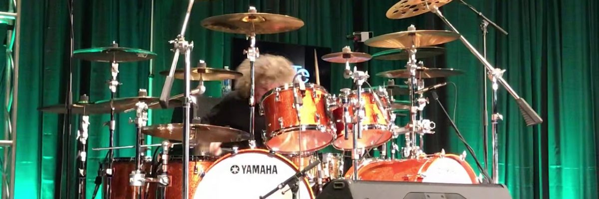 Tommy Aldridge: Live performance at PASIC 2019