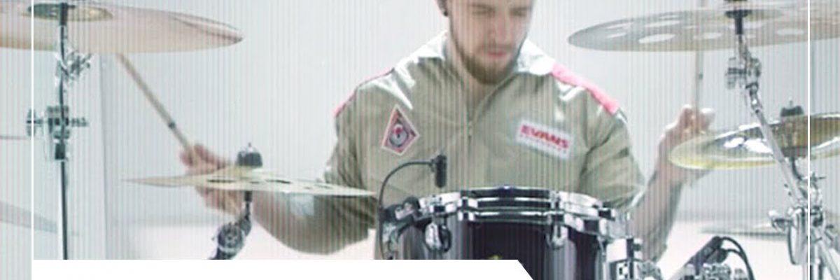 Eloy Casagrande: Evans Drumheads (2019)