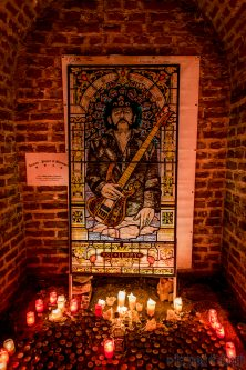Lemmy monument by Zyklord at Brutal Assault