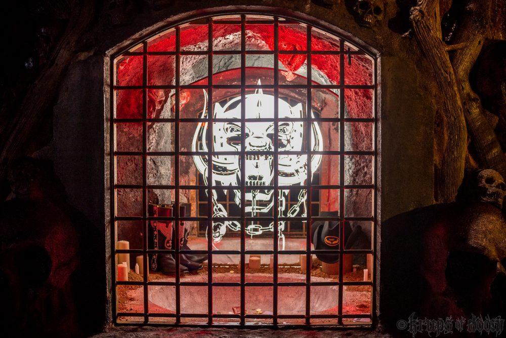 Lemmy Kilmister shrine at Hellfest
