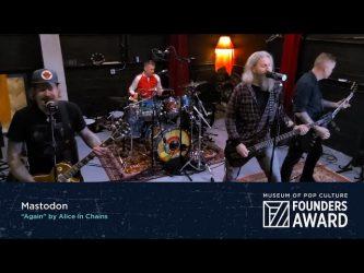 Mastodon: Again (Alice in Chains live cover)