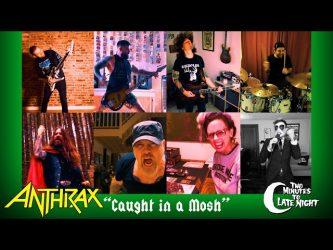 Two Minutes to Late Night: Caught in a Mosh (Anthrax Cover)