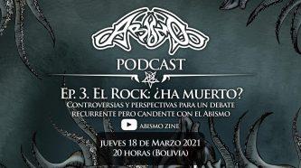 Abismo podcast: Ep. 3. El Rock ¿ha muerto?
