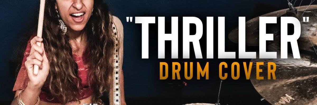 Sarah Thawer: Thriller (Drum Cover)