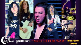 Two Minutes to Late Night: Mouth for War (Pantera Cover)